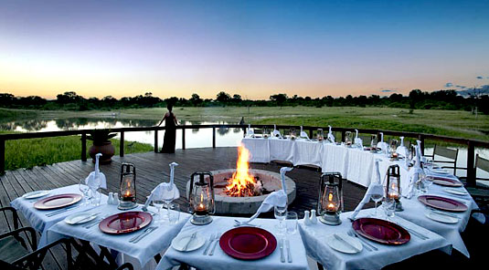 Boma Dining Arathusa Safari Lodge Sabi Sands Game Reserve Accommodation booking