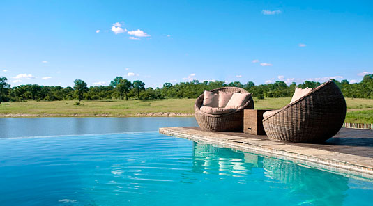 Swimming pool Arathusa Safari Lodge Sabi Sands Game Reserve Accommodation booking