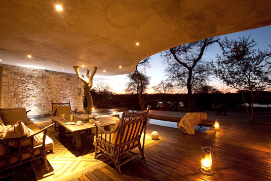 Chitwa House Deck View Chitwa Chitwa Game Lodge Sabi Sand Game Reserve African Safari Accommodation Booking