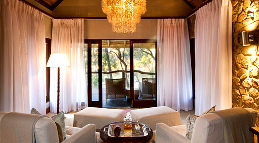 private lounge Dulini Safari Lodge Sabi Sand Game Reserve South Africa Luxury Safari Lodge Bookings