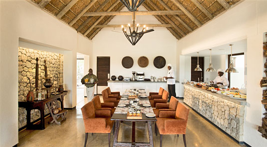 Dining room Sabi Sand Luxury African Safari Game Lodge Dulini River Lodge Dulini Private Game Reserve South Africa