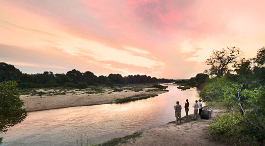 Sundowners Sabi Sand Luxury African Safari Game Lodge Dulini River Lodge Dulini Private Game Reserve South Africa