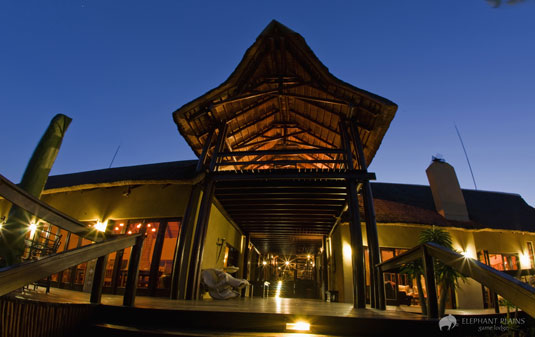 Entrance Elephant Plains Game Lodge Sabi Sand Game Reserve Accommodation Booking