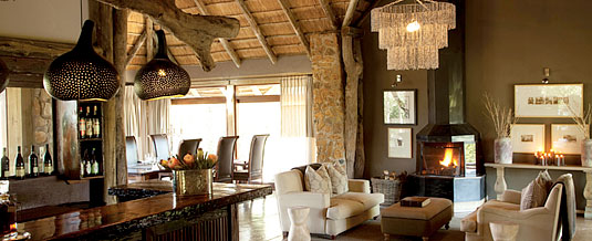 Main Lodge Bar Lounge Area Leopard Hills Private Game Reserve Sabi Sand Game Reserve Accommodation Booking