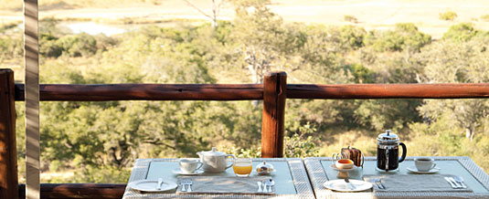 Breakfast Leopard Hills Private Game Reserve Sabi Sand Game Reserve Accommodation Booking