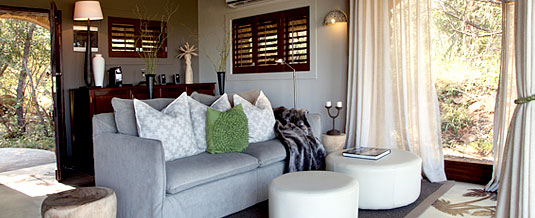 Luxury Suite Lounge Leopard Hills Private Game Reserve Sabi Sand Game Reserve Accommodation Booking