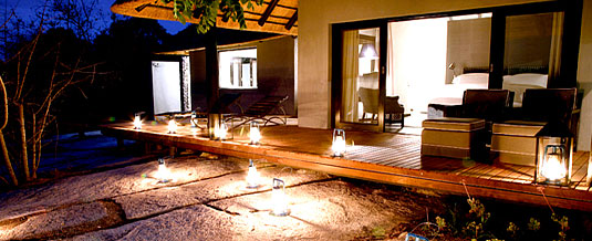 Suite leisure deck Private Granite Suites Londolozi Private Game Reserve Sabi Sand Private Game Reserve Accommodation Booking