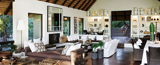 Tree Camp Main Lodge Lounge Area Londolozi Private Game Reserve Sabi Sand Private Game Reserve Accommodation Booking