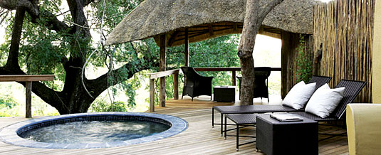 Chalet Plunge Pool Deck Varty Camp Londolozi Private Game Reserve Sabi Sand Private Game Reserve Accommodation Booking