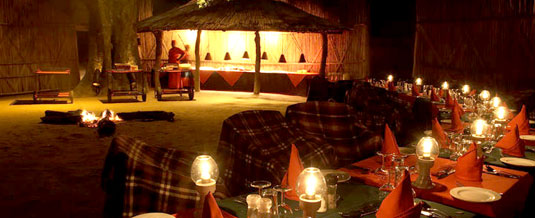 Boma Dinner Bush Dining Mala Mala Main Camp Mala Mala Private Game Reserve Sabi Sand Private Game Reserve Accommodation Booking