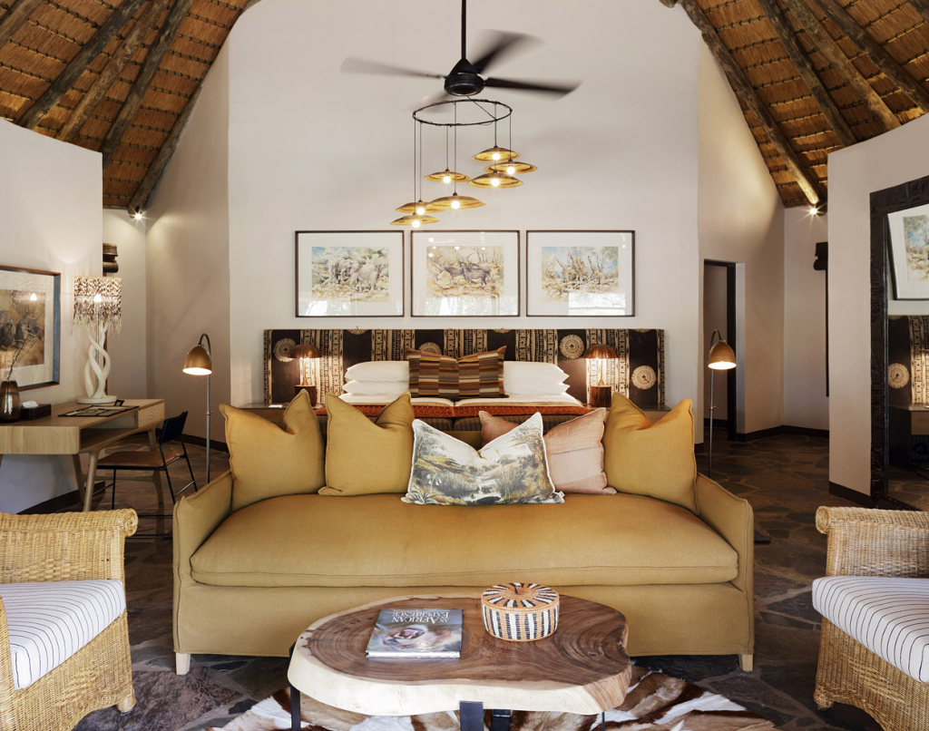 Luxury Thatched Suites bedroom Mala Mala Sable Camp Mala Mala Private Game Reserve Sabi Sand Private Game Reserve Accommodation Booking