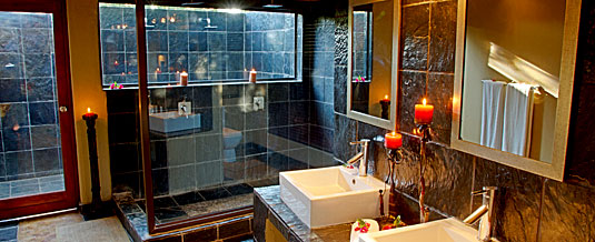Luxury En-suite Bathroom Nkorho Bush Lodge Sabi Sands Private Game Reserve Kruger National Park Accommodation Booking