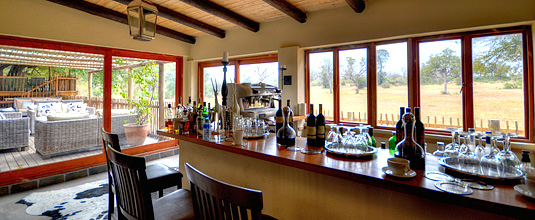 Bar Nottens Bush Camp Nottens Private Game Reserve Sabi Sands Game Reserve Safari Lodge bookings