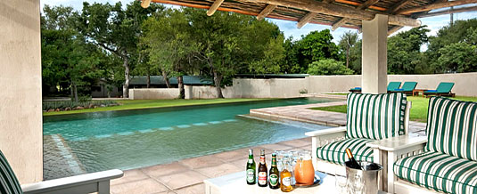 Swimming pool Nottens Bush Camp Nottens Private Game Reserve Sabi Sands Game Reserve Accommodation bookings