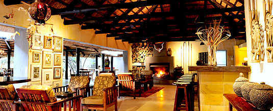 Main Lodge Bar Area Bush Lodge Luxury Accommodation Sabi Sabi Private Game Reserve Sabi Sands Reserve