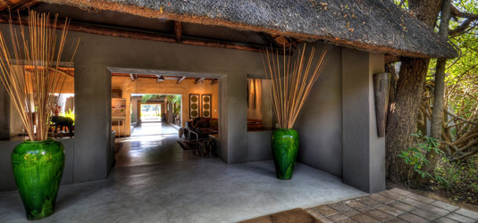 Sabi Sabi Main Lodge Entrance Bush Lodge Luxury Accommodation Sabi Sabi Private Game Reserve Sabi Sands Reserve