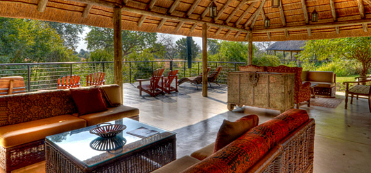 Sabi Sabi View Deck Lounge Main Lodge Bush Lodge Luxury Accommodation Sabi Sabi Private Game Reserve Sabi Sands Reserve