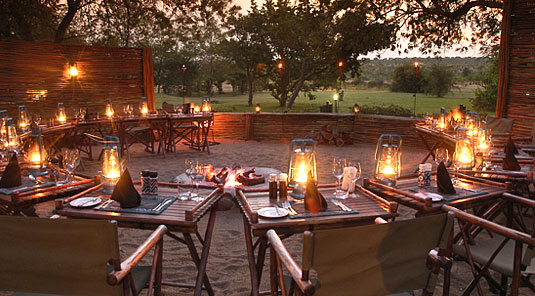 Savanna Boma Bush Dinner Savanna Private Game Lodge Luxury Accommodation Savanna Private Game Reserve Sabi Sands Reserve