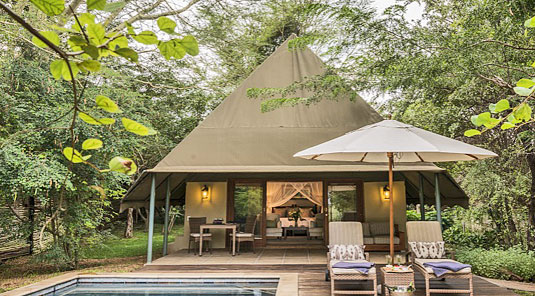 Executive Tented Suites Luxury Accommodation Savanna Private Game Reserve Sabi Sands Reserve Accommodation bookings