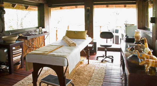 Spa Room Sabi Sands Luxury Safari Lodge Simbambili Game Lodge Bookings Luxury Accommodation bookings Sabi Sands Reserve