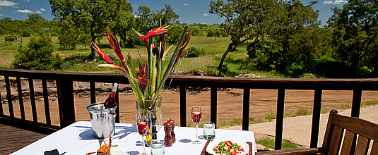 Ulusaba Safari Lodge,Lunch,Deck,Safari Lodge,Ulusaba Private Game Reserve,Sabi Sand Private Game Reserve