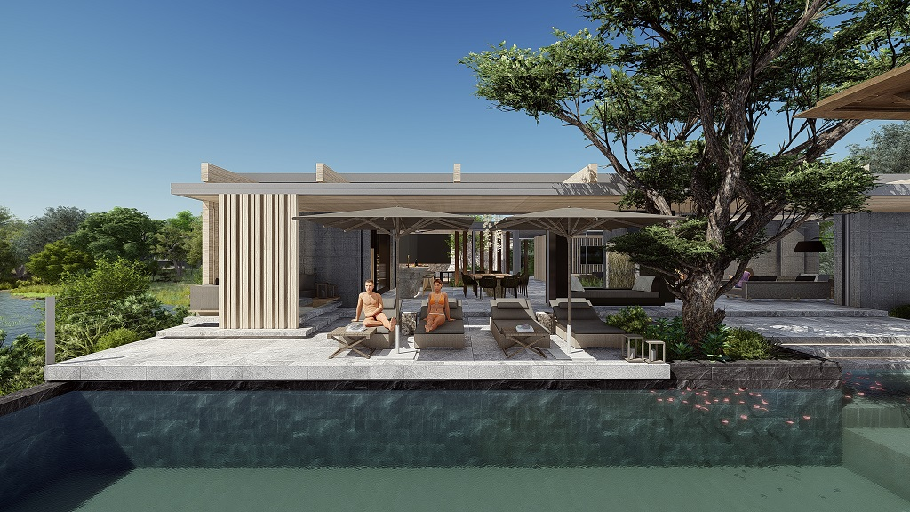Rendering of Mapogo House - Cheetah Plains Private Game Reserve - Sabie and Sand Rivers Ecosystems - Greater Kruger National Park, South Africa
