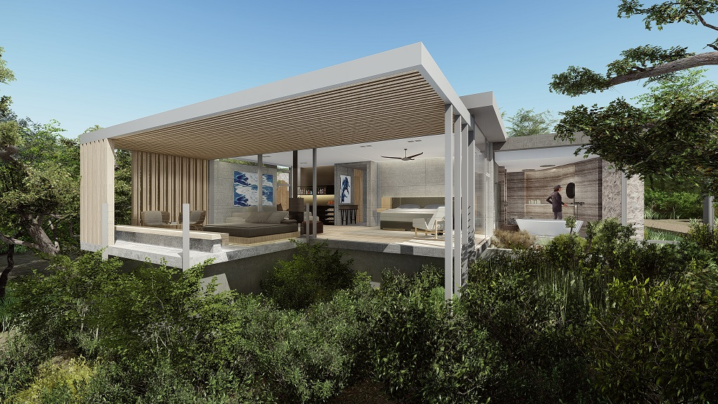 Rendering of Mapogo House -Cheetah Plains Private Game Reserve - Sabie and Sand Rivers Ecosystems - Greater Kruger National Park, South Africa